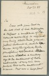 [Letter from W. (William Ewart) Gladstone (Hawarden) to [C. A. Oldhenny ?], regarding the anti-nationalist stance of the Protestants of Belfast, on the visit of Lord Hartington. Hopes that the meeting in Dublin will bring out the Irish Protestants who sup