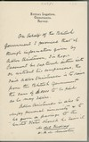 Handwritten statement by Mansfeldt de Cardonnel Findlay, H.B.M. Minister, British Legation at Christiania, Norway promising to pay Adler Christensen the sum of £5,000 for the provision of information that would lead to the capture of Roger Casement.