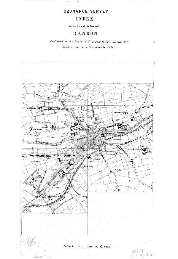 Bandon Map | Ireland Google Satellite Maps - uselesspenguin.co.uk