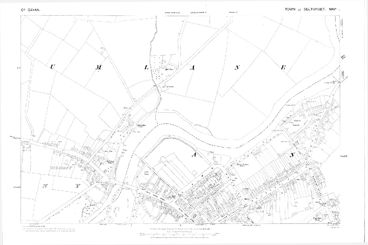 Map Of Ireland Cavan.County Cavan Ucd Digital Library