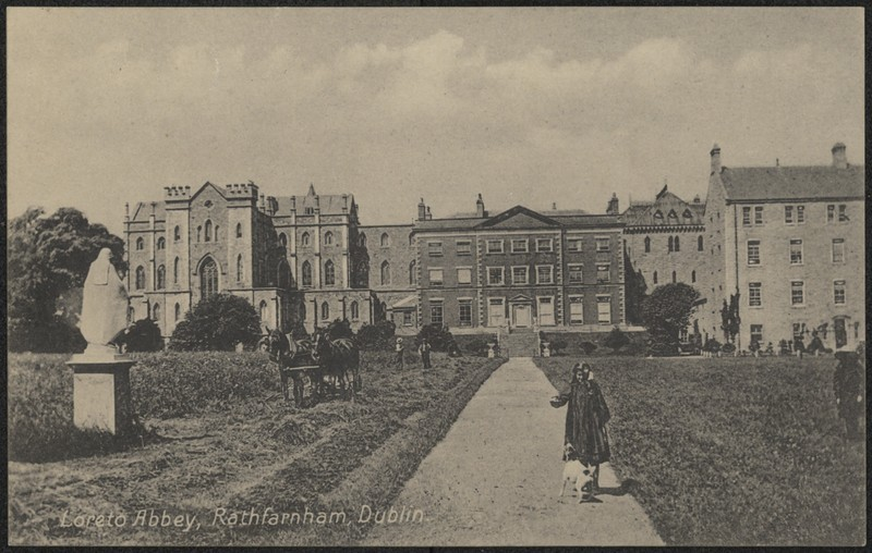 Loreto Abbey Rathfarnham Dublin Ucd Digital Library