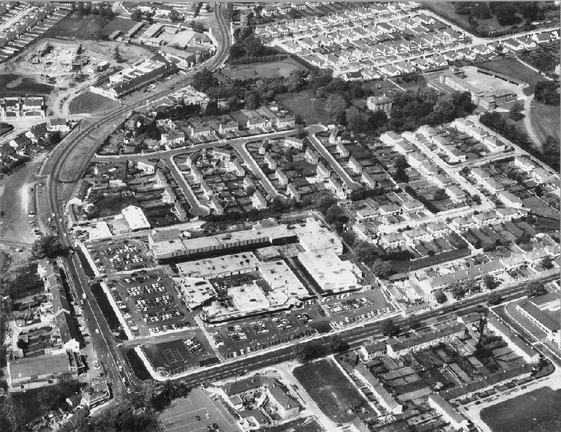Stillorgan Shopping Centre Aerial View Ucd Digital Library